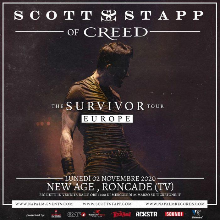 Scott Stapp - The Survivor Tour Europe 2020 - Promo