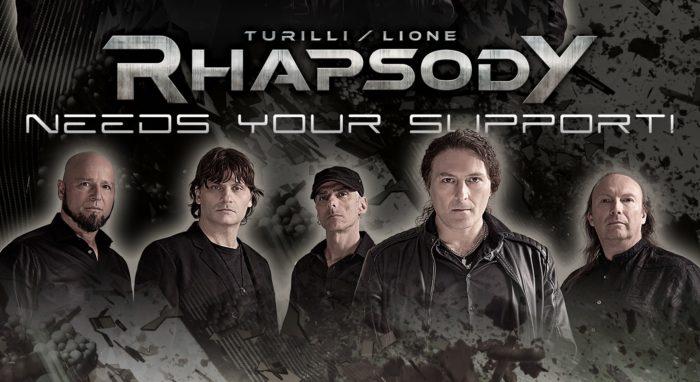 Turilli Lione Rhapsody - Campagna Gofundme