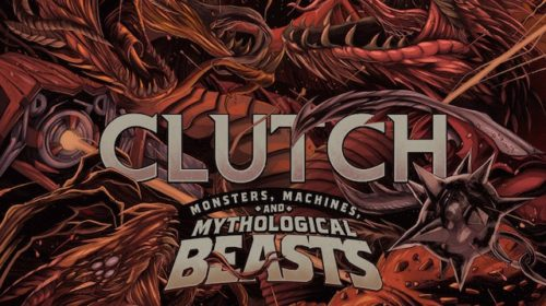 Clutch - Monsters Machines And Mythological Beasts - Album Cover