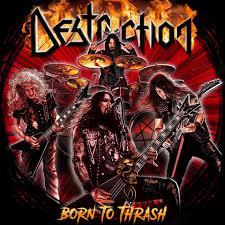 Destruction - Born To Thrash Live In Germany - Album Cover