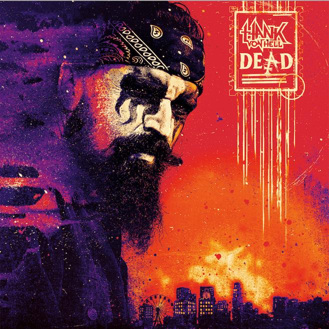 Hank Von Hell - Dead - Album Cover