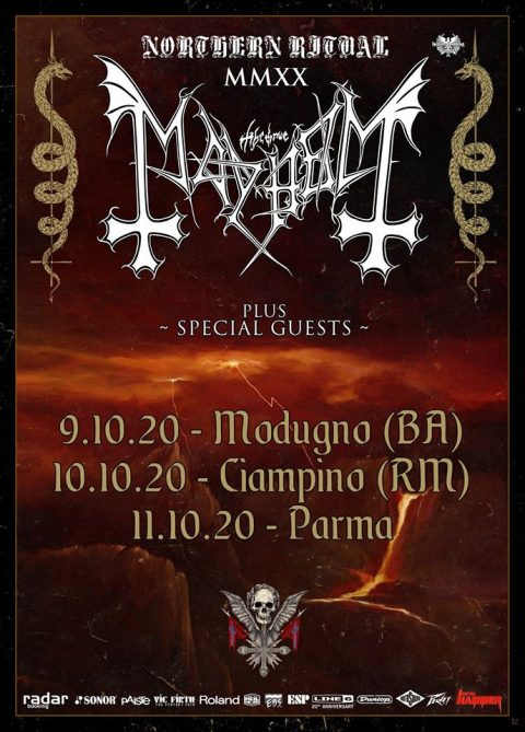 Mayhem - Italian Tour 2020 - Promo