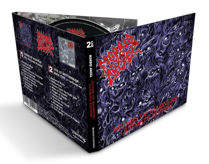 Morbid Angel - Altars Of Madness - Ultimate Edition - Album Cover