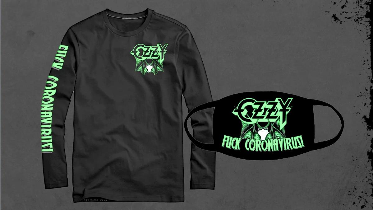 Ozzy Osbourne - Fuck Coronavirus - T - Shirt