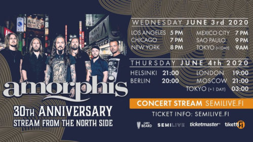 Amorphis - Stream From The North Side - 30Th Anniversary 2020