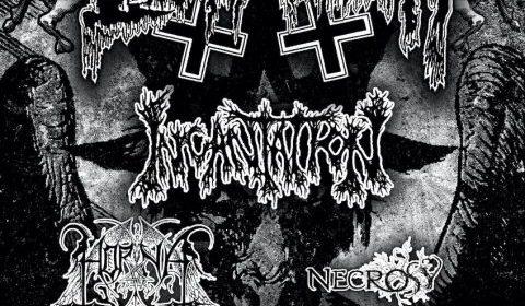 Belphegor - Incantation - Horna - Death Magick Over Europe - Tour 2020 - Promo