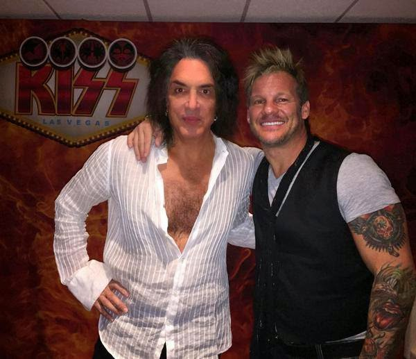 Chris Jericho - Paul Stanley