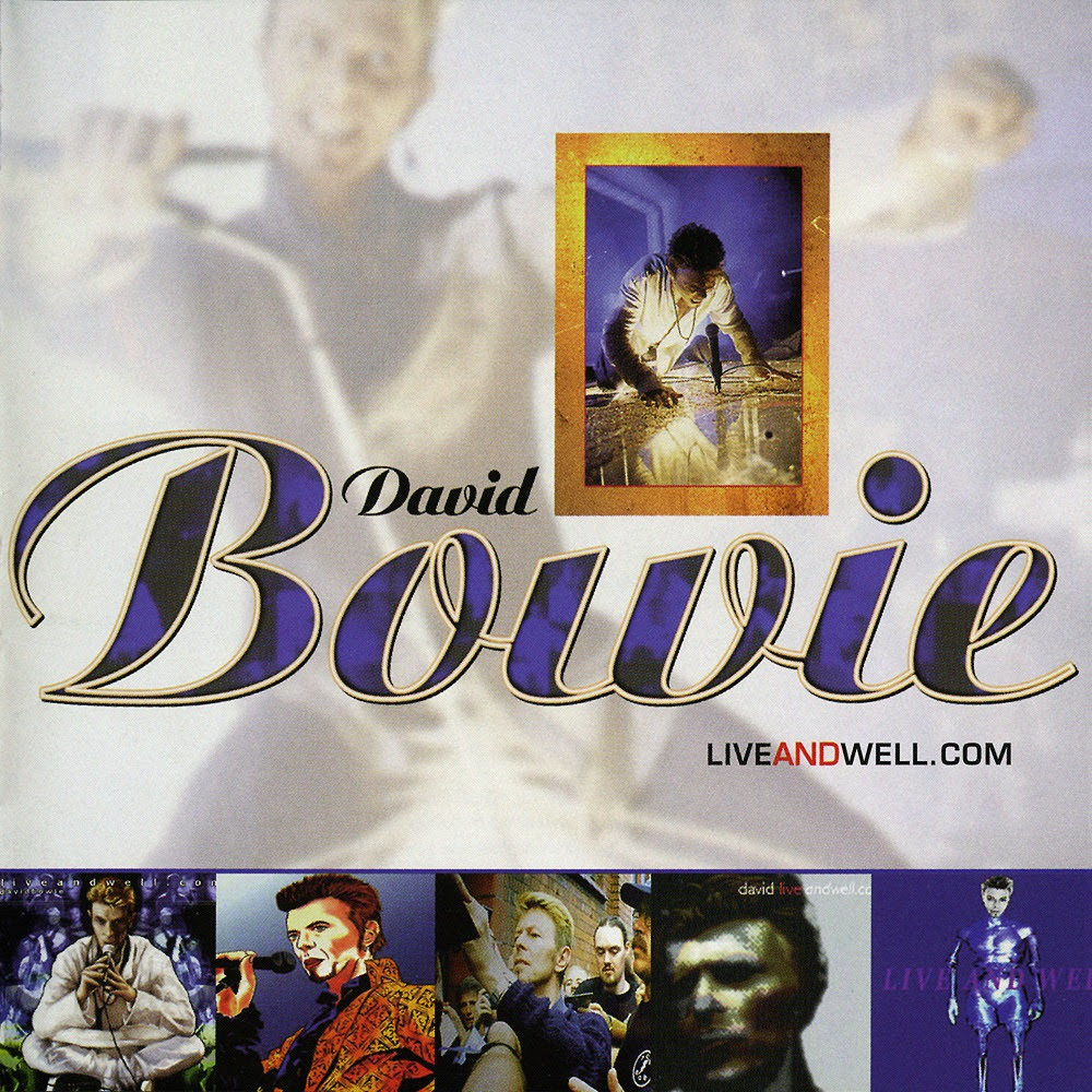 David Bowie - Live And Well Com - Album Cover