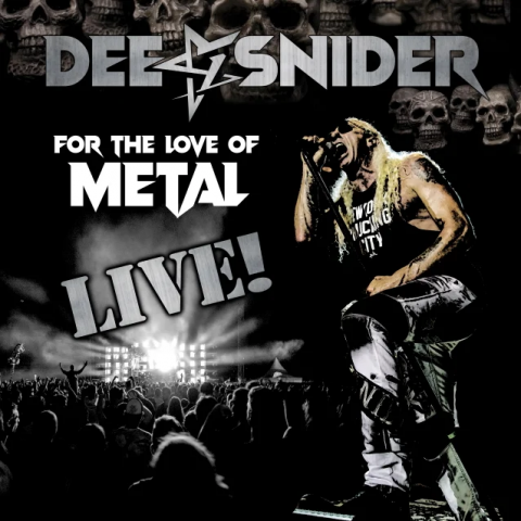 Dee Snider - For The Love Of Metal Live - Album Cover
