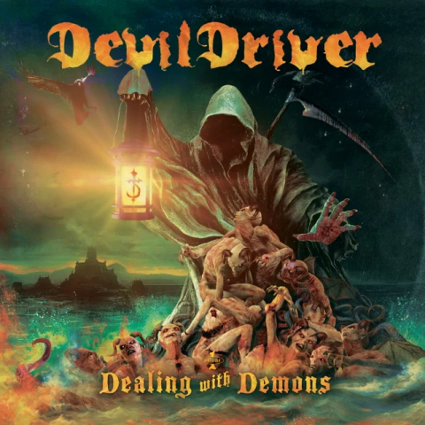 Devildriver - Dealing With Demons - Album Cover