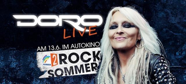 Doro Pesch - Regenbogen 2 Rock Summer Drive In - Live 2020 - Promo