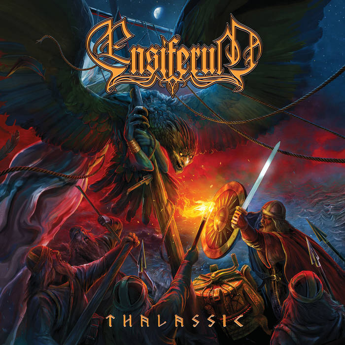 Ensiferum - Thalassic - Album Cover