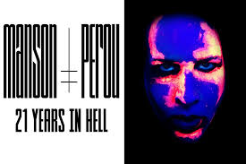 Marilyn Manson - Marilyn Manson By Perou 21 Years In Hell - Book Cover