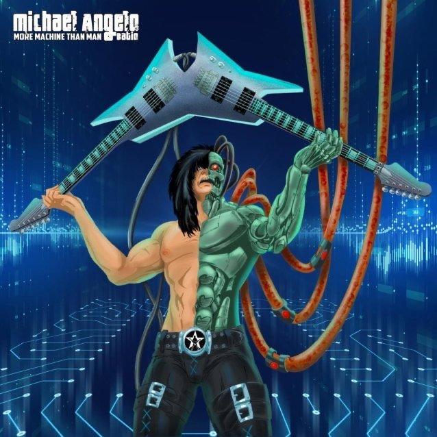 Michael Angelo Batio - More Machine Than Man - Album Cover