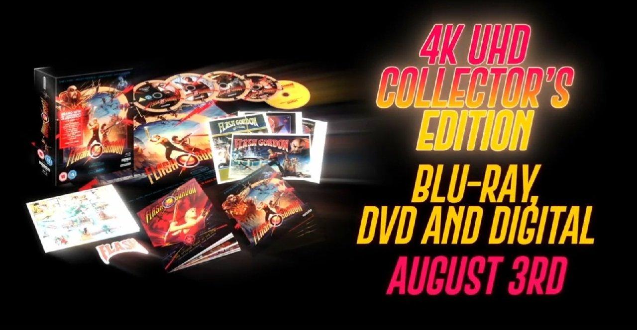 Queen - Flash Gordon - Box Set Cover