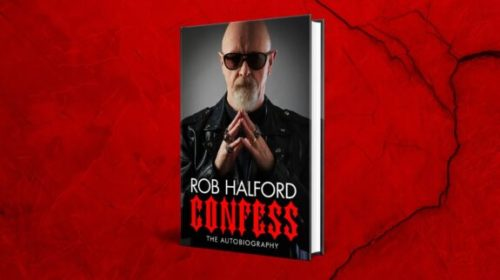 Rob Halford - Confess - Book Cover