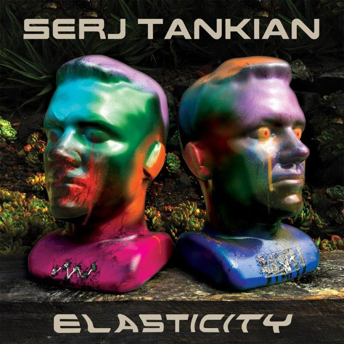 Serj Tankian - Elasticity - EP Cover
