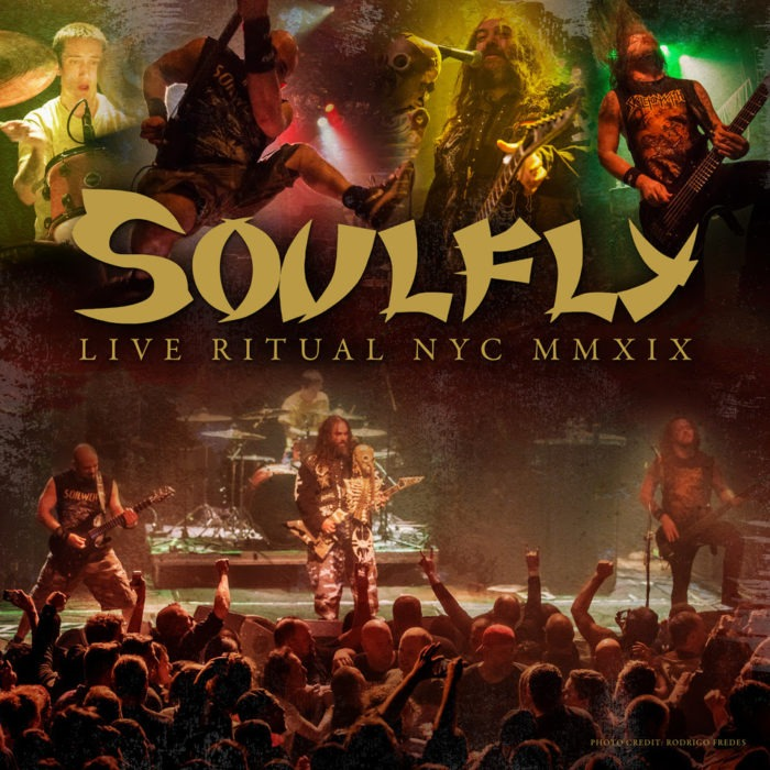 Soulfly - Live Ritual NYC MMXIX - EP Cover