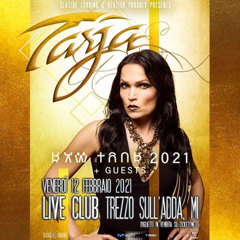 Tarja Turunen - Live Club - Italian Tour 2021 - Promo