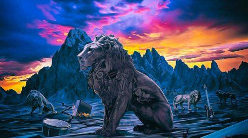 Tokyo Motor Fist - Lions - Album Cover