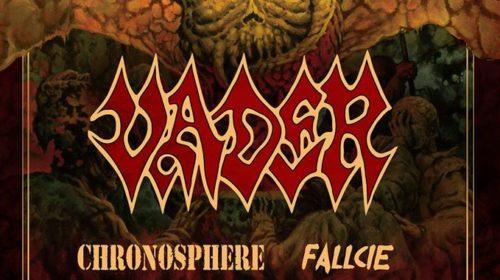Vader - Chronosphere - Fallcie - Europe Madness Tour 2020 - Promo