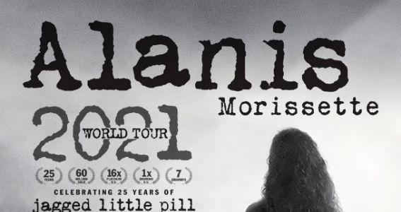 Alanis Morisette - World Tour 2021 - Promo