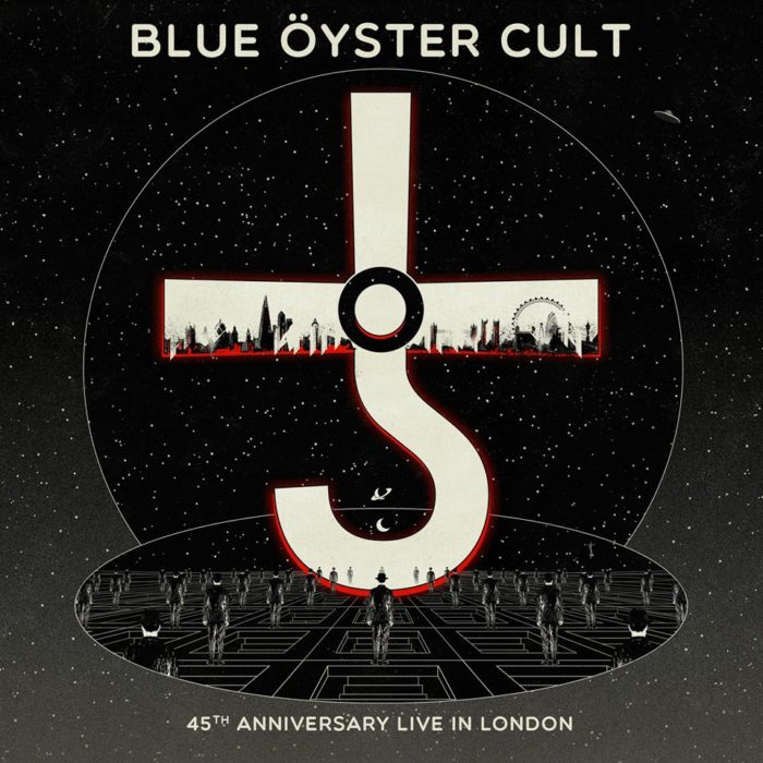 Blue Oyster Cult - 45Th Anniversary Live In London - Album Cover