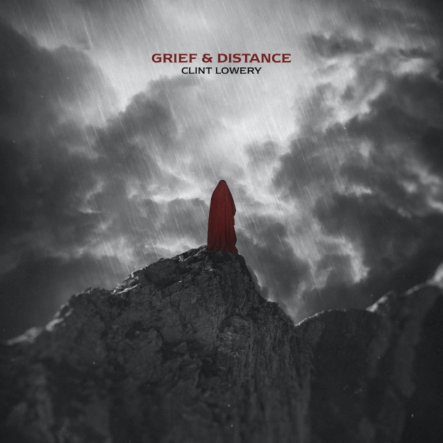 Clint Lowery - Grief Distance - EP Cover