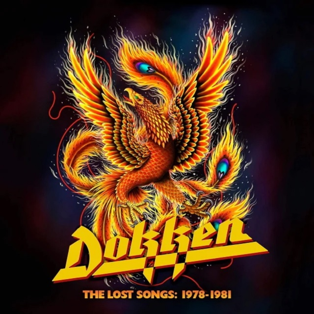 Dokken - The Lost Songs 1978 - 1981 - Album Cover