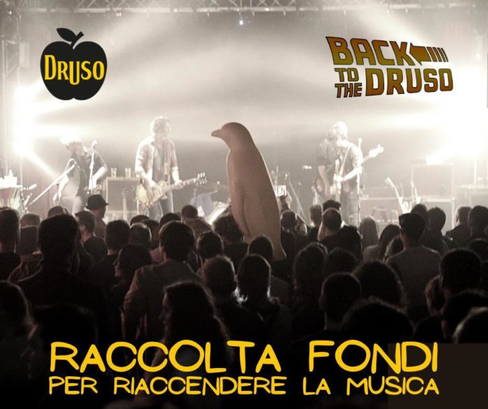 Druso - Back To The Druso - Raccolta Fondi Per Riaccendere La Musica