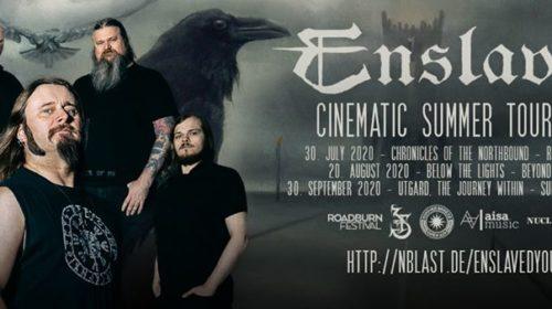 Enslaved - Cinematic Summer Tour 2020 - Promo