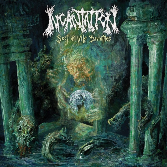 Incantation - Sect Of Vile Divinities - Album Cover