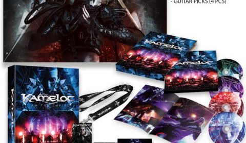 Kamelot - I Am The Empire Live From The 013 - Album Cover