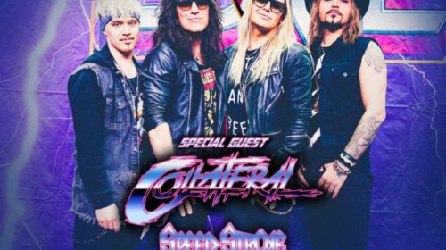 Reckless Love - Collateral - Speed Stroke - Metal Madness Tour 2021 - Promo