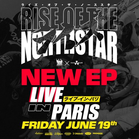 Rise Of The Northstar - Live In Paris - EP Cover