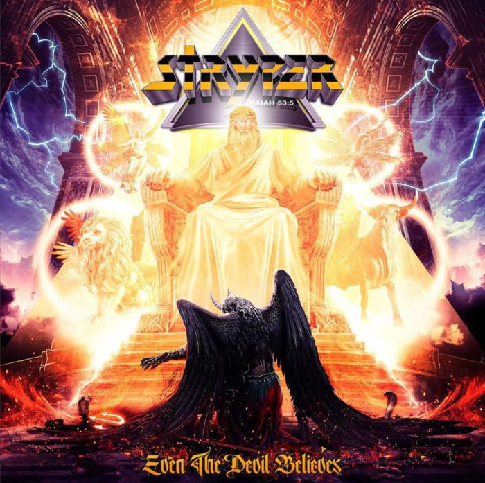 Stryper - Even The Devil Believes - Single Cover
