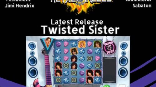 Twisted Sister - Metal Reels - Videogames