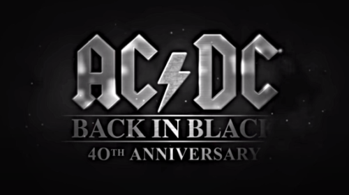 ACDC - Back In Black - 40Th Anniversary