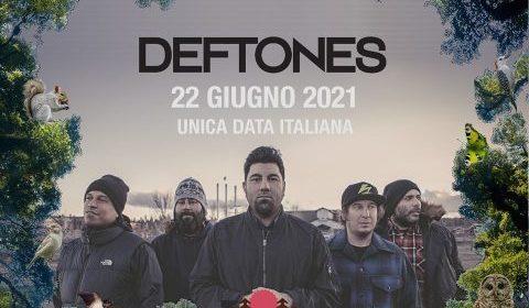 Deftones - Sequoie Music Park - Italian Tour 2021 - Promo