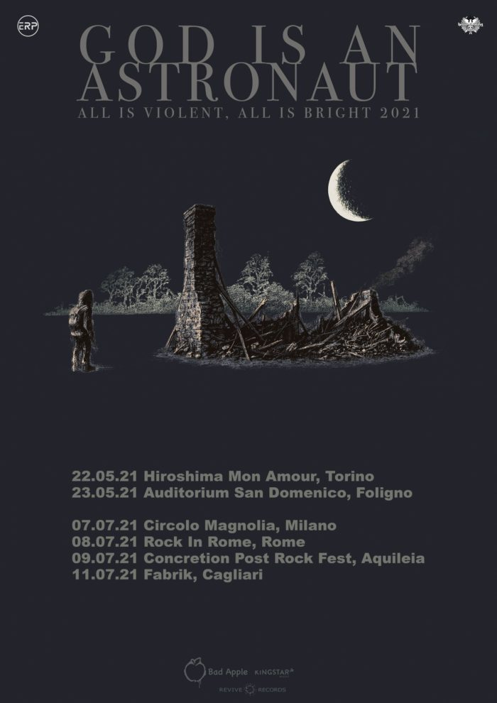 God Is An Astronaut - All Is Violent All Is Bright - Tour 2021 - Promo