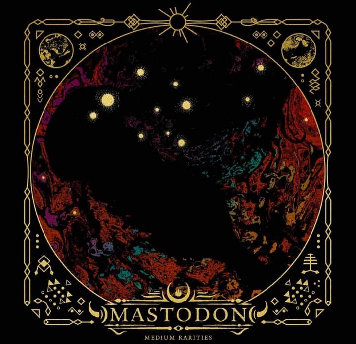 Mastodon - Medium Rarities - Album Cover