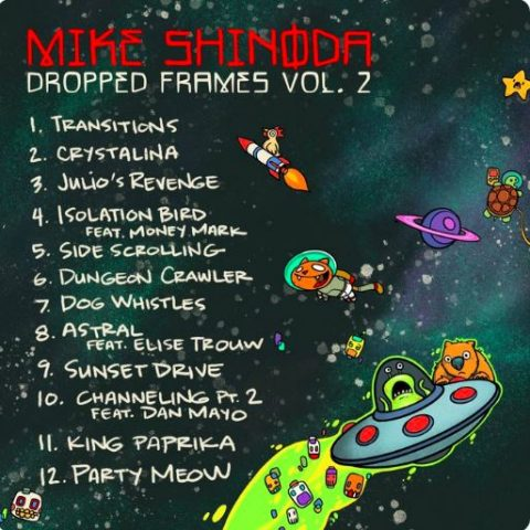 Mike Shinoda - Dropped Frames Vol 2 - Album Cover