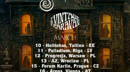 Opeth - The Vintage Caravan - European Tour 2021 - Promo