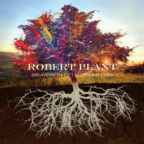 Robert Plant - Digging Deep Subterranea - Album Cover