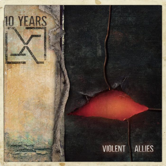 10 Years - Violent Allies - Album Cover