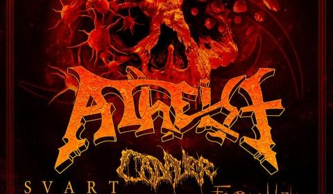 Atheist - Cadaver - Svart Crown - From Hell - Enthralled In Europe 2021 - Promo