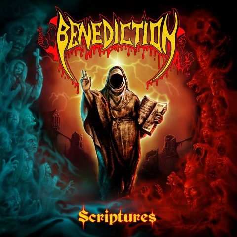 Benediction - Scriptures -Album Cover