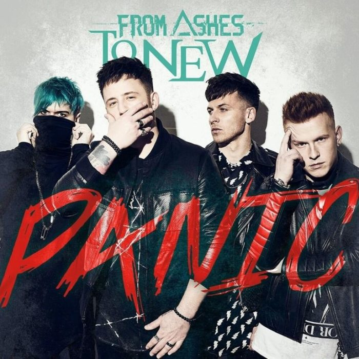 From Ashes To New - Panic - Album Cover