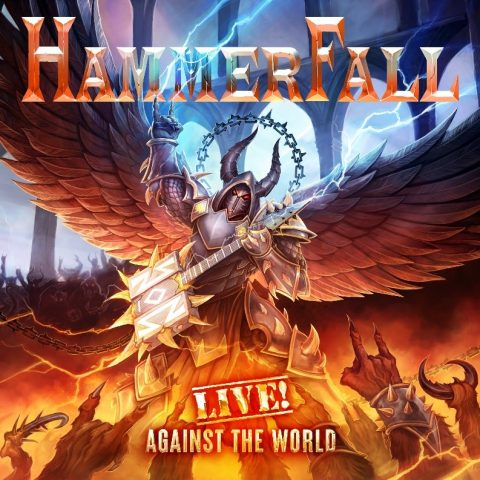 Hammerfall - Live Against The World - Album Cover