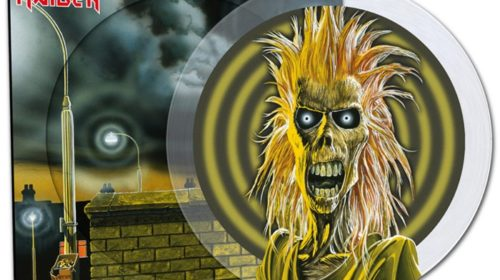 Iron Maiden - Iron Maiden - Picture Disc Cover